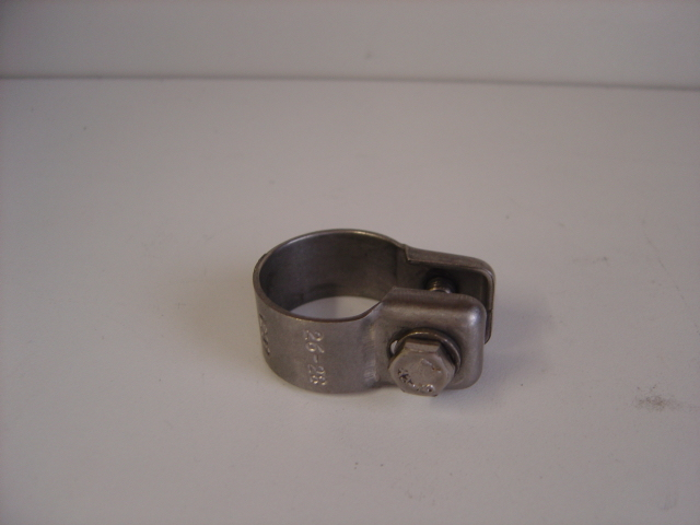 24mm exhaust clamp s/s