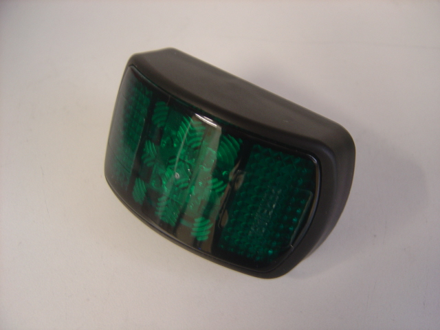 Green led ss mater switch lights