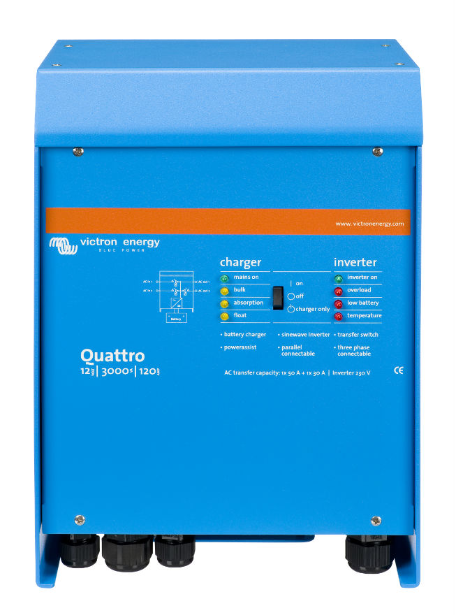 quattro inverter/charger