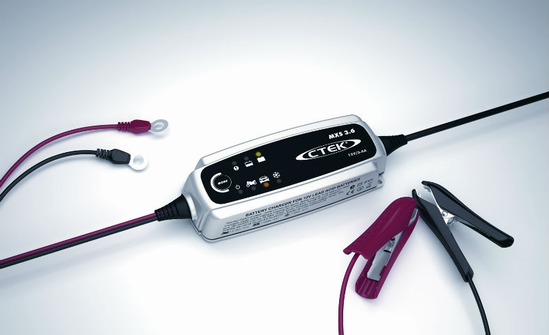 12v 3.6amp 4 Stage Multi function smart charger